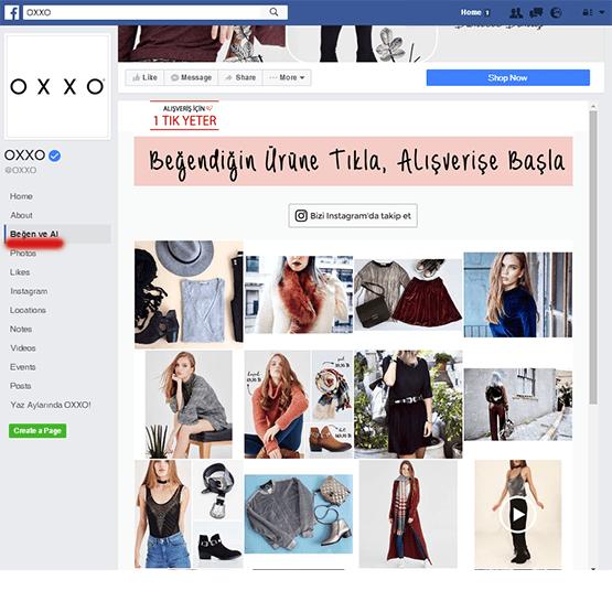 Facebook Mağazası